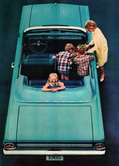 1965 Ford Falcon Convertible via Tumblr