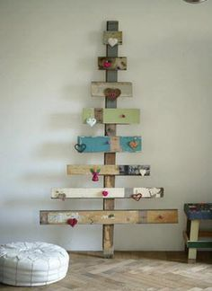 50 amazingly creative alternative Christmas tree ideas - fancy-deco.com