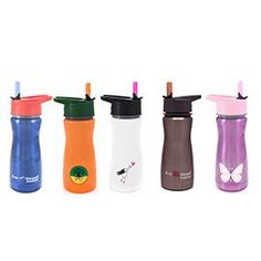 Keep your child's drink cold ALL DAY with this insulated straw top bottle - perfect for their desk or after school activities.