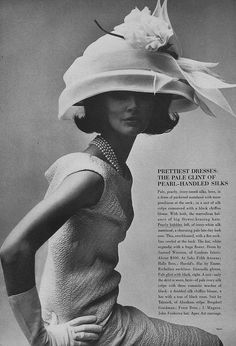 March Vogue 1964 by Irving Penn