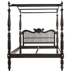 portuges furnitur, beds, bed envi, 19th, eboni bed, indodutch eboni, upstair bedroom, canopies