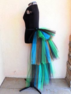 Rock It Women's Custom Sewn 3 Tiered Tutu Bustle by TiarasTutus