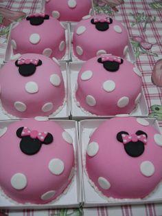 Ideia -  Festa da Minnie cor de rosa