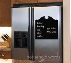 kitchen back door, project kitchen, chalkboard decal