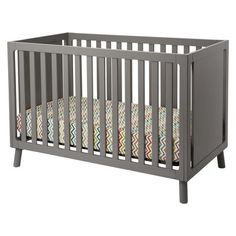 Modern and Affordable Crib: Delta Children Manhattan 3-in-1 Crib. #travel #nursery #boy