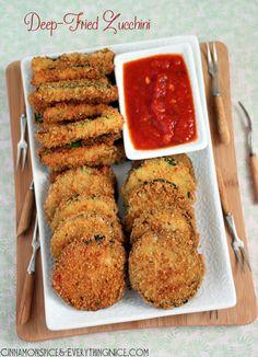 Deep-Fried Zucchini