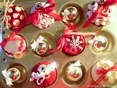 DIY ornaments for gifts