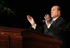 Thomas S. Monson: 'Obedience Brings Blessings'   Deseret News - love this talk!