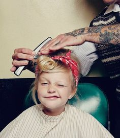 little girls, traditional tattoos, amber, children, daughters, hair, champs, ink, kid
