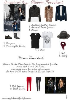 10 Items | Alison Mosshart | My Lisbon Lifestyle