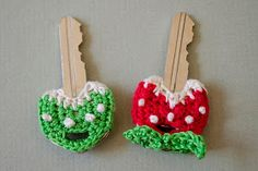 free crochet pattern key cozy