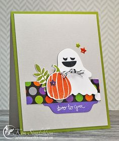 Love the sentiment placement: Joyful Creations with Kim
