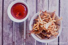 Celeriac Fries (Low Carb)  - 98 calories and 2 PointsPlus