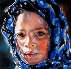 """""""Acceptance"""" - Original Fine Art for Sale - © Crystal  Cook"""