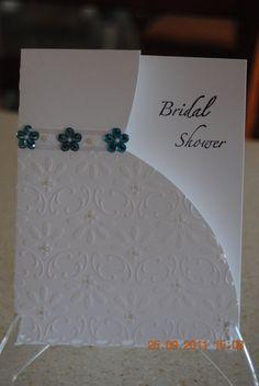 cuttlebug wedding card