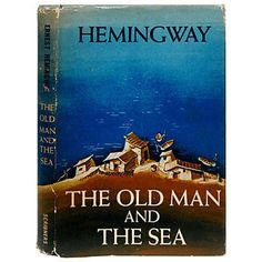 The Old Man and the Sea by Hemingway, 1st Edition (1952) The last major work that Hemingway produced in his lifetime. $2,995