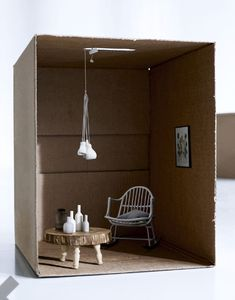 the ever-versatile cardboard box