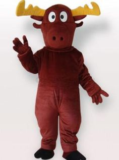 Reindeer Adult Mascot Costume - all the mascot costumes are global free shipping at http://www.cosplayzentai.com