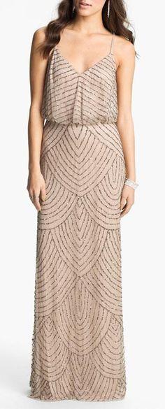 Gatsby Inspired Long Dress