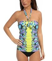 Seafolly Bella Rose Bandeau Tankini Top