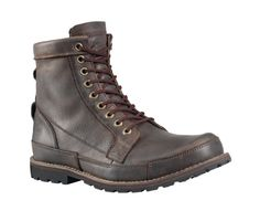 earthkeepers by timberland... eco-friendly and versatile, this is the best pair of boots I've ever had, mine have been through hell and they still look great... it's worth the money to invest in one solid pair of boots (or shoes for that matter) as opposed to buying several crappy pairs over the years