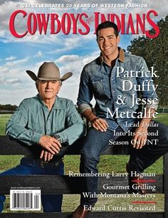 """Cowboys & Indians, partner for """"Into the West"""" 2013 Fall Fashion Preview Party, April 2013 Cover #dallasmarket"""
