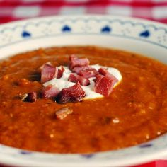 Roasted Squash and Smoked Ham Soup #Newfoundland, #recipes, #RockRecipes, #cooking, #food, #baking, #food #photography, #family, #meals, #StJohns Twitter: @RockRecipes