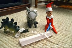 Elf on the Shelf Ideas (elf on)