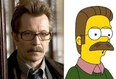 Commissioner Gordon and Flanders are the same person.