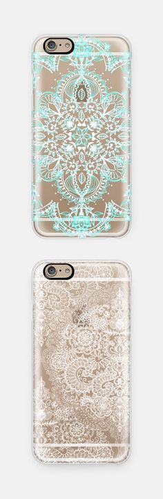 Let your phone shine-through. Beautiful iPhone cases//