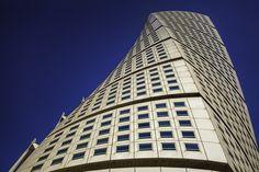 Amazing Turning Torso http://mabrycampbell.com #turningtorso #calatrava #architecture #building #malmö #sweden #torso #santiagocalatrava #skane #mabrycampbell #photo #photography #image #clearsky #sky