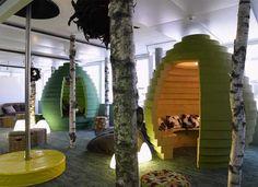Camenzind Evolution:  Google Zurich via The Cool Hunter