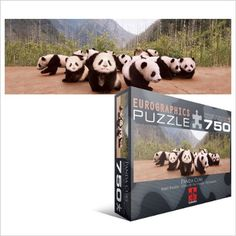 Panda Cubs Puzzle at theBIGzoo.com, a family-owned toy store.