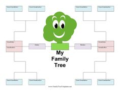 Family Tree With Siblings Template Images & Pictures - Becuo