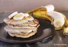 2 Ingredient Banana Pancake (Gluten, Paleo & Dairy Friendly)