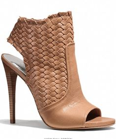 Coach leather woven heels http://rstyle.me/n/ku7qmr9te