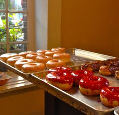 Glazed and Infused selling their tasty creations at the Raffaello Hotel 201 E. Delaware, Chicago.