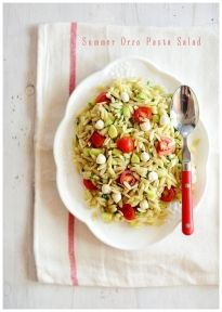 Summer Orzo Pasta Salad » Fit, Fun & Delish!