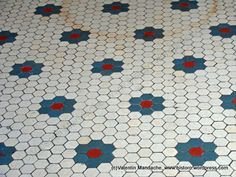 laundry / powder room floor tiles - style