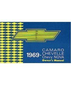 1969 CHEVROLET CAMARO CHEVELLE NOVA O... $12.29 #topseller