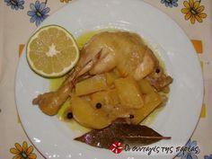 Νόστιμο λεμονάτο κατσαρόλας με κοτόπουλο #sintagespareas