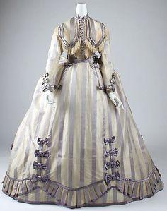 Dress, 1860s