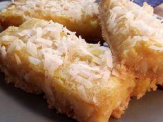 Gluten-Free Coconut Lemon Bars