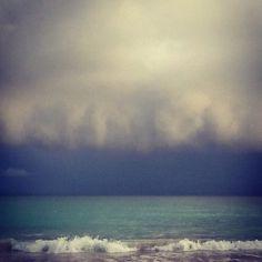 Stormy day at Playuela Garcia Beach, Puerto Rico  #sea #ocean