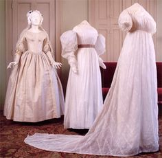 1830s wedding | Wedding Dresses at the Prescott House, Boston - c. 1800s, 1830s, 1840s ...