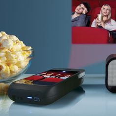 COVET!  Pocket Projector for iPhone 4® Devices $299