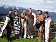 Traditional Maori wedding ceremony in New Zealand, 10th Anniversary