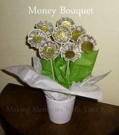 Money Bouquet - the perfect money gift idea for anyone