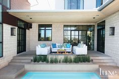 Exact Nature: Designer Gets Her Entire Wishlist #pool #austin #wishlist #architecture #furniture #luxe #luxemag #luxury #interiordesign #interior #interiors #design #inspiration #house #dwelling #residential See more: luxesource.com