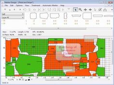 Industry software (from http://www.padsystem.com/node/67) : pattern making / cutting / marking. A genuine multiplatform pattern & marker making software for apparel industry.